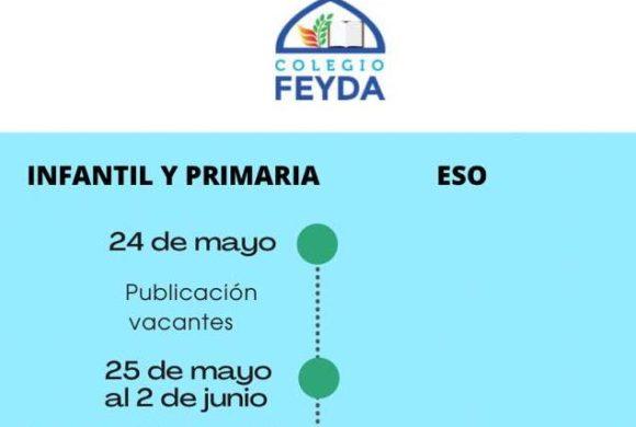 Calendario de admisión 2021-2022